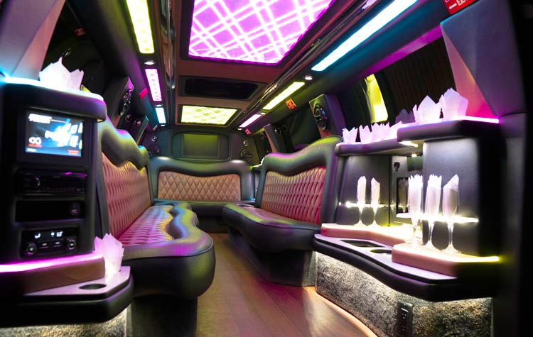 Millennium Limousine Party Bus Limo Gallery Cadillac Escalade Stretch